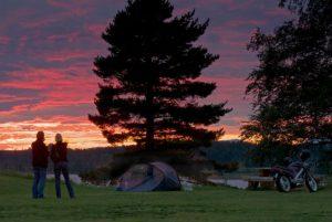 Solnedgång på Särna Camping! Fotograf - Vitantonio Dell´Órto