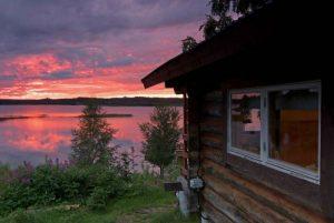 Vy från Särna Camping Stuga 10! Fotograf Vitantonio Dell´Orto