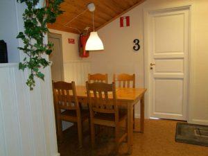 Matplats på Vandrarhemmet i Särna camping