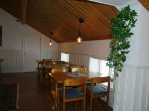Matsal på Pensionat Holmen på Särna Camping