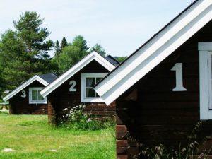 2-bädds stuga på Särna Camping