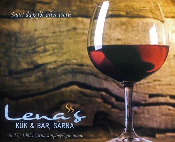 After Work Lenas kök & bar webb