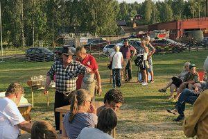 Auktion på Särna Camping