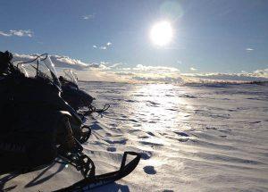 Åka snöskoter i Särna och bo på Särna Camping