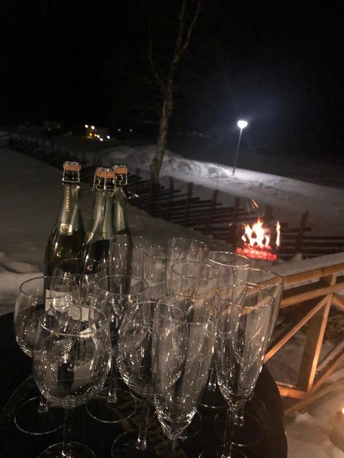 Nyårssupé Särna Camping Lena´s Kök & Bar